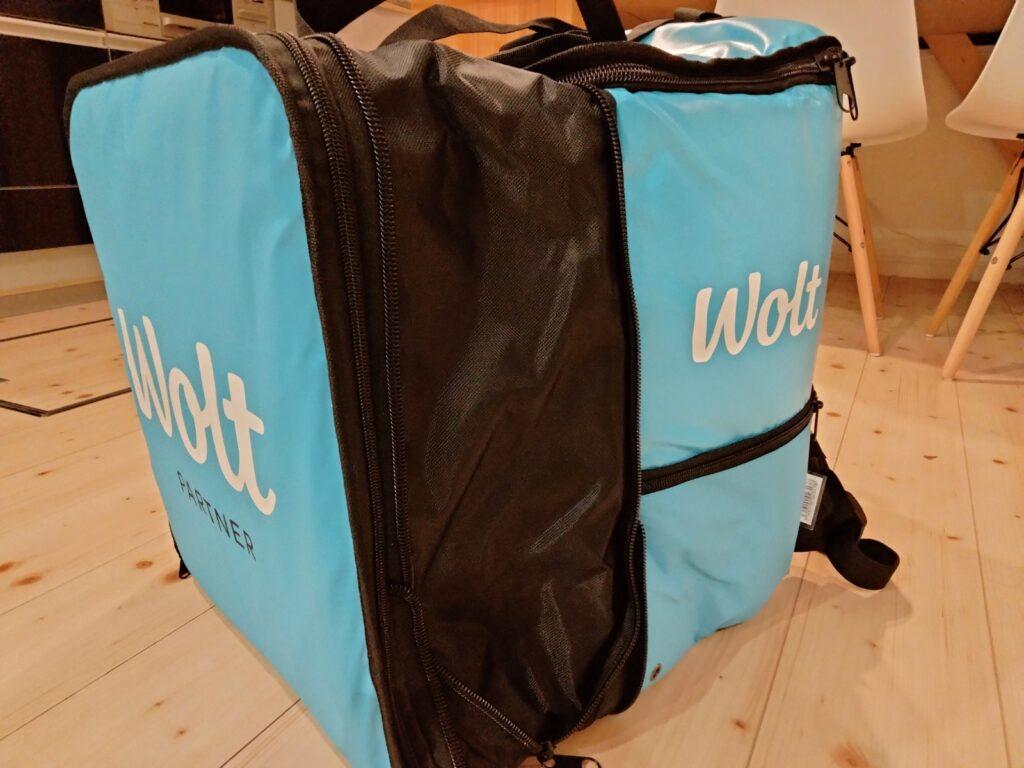 Wolt(ウォルト)ロゴ入りリュック(デポジット内)