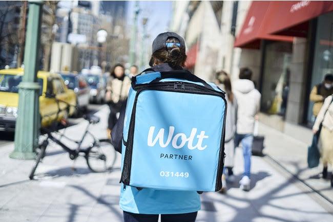 Wolt(ウォルト)で「配達バッグへの背番号の導入」スタート
